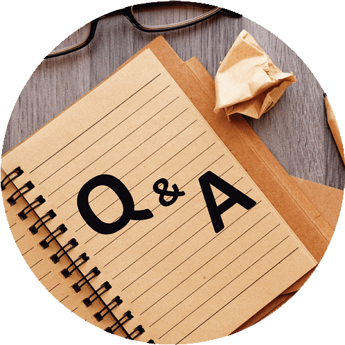question and answer notebook